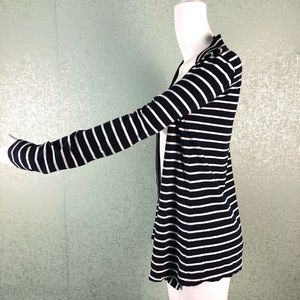 J. Crew Sweaters - J. Crew Sailor Stripe Always Cardigan Navy & White
